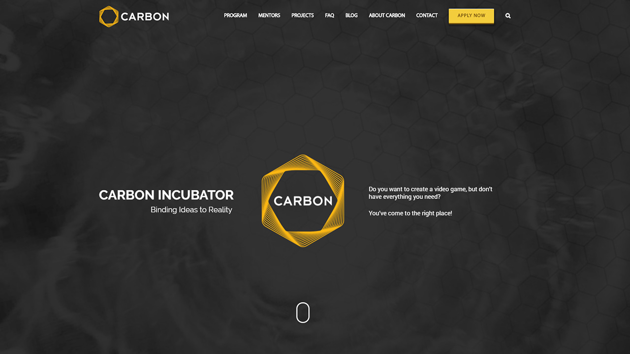 Carbon Incubator Website