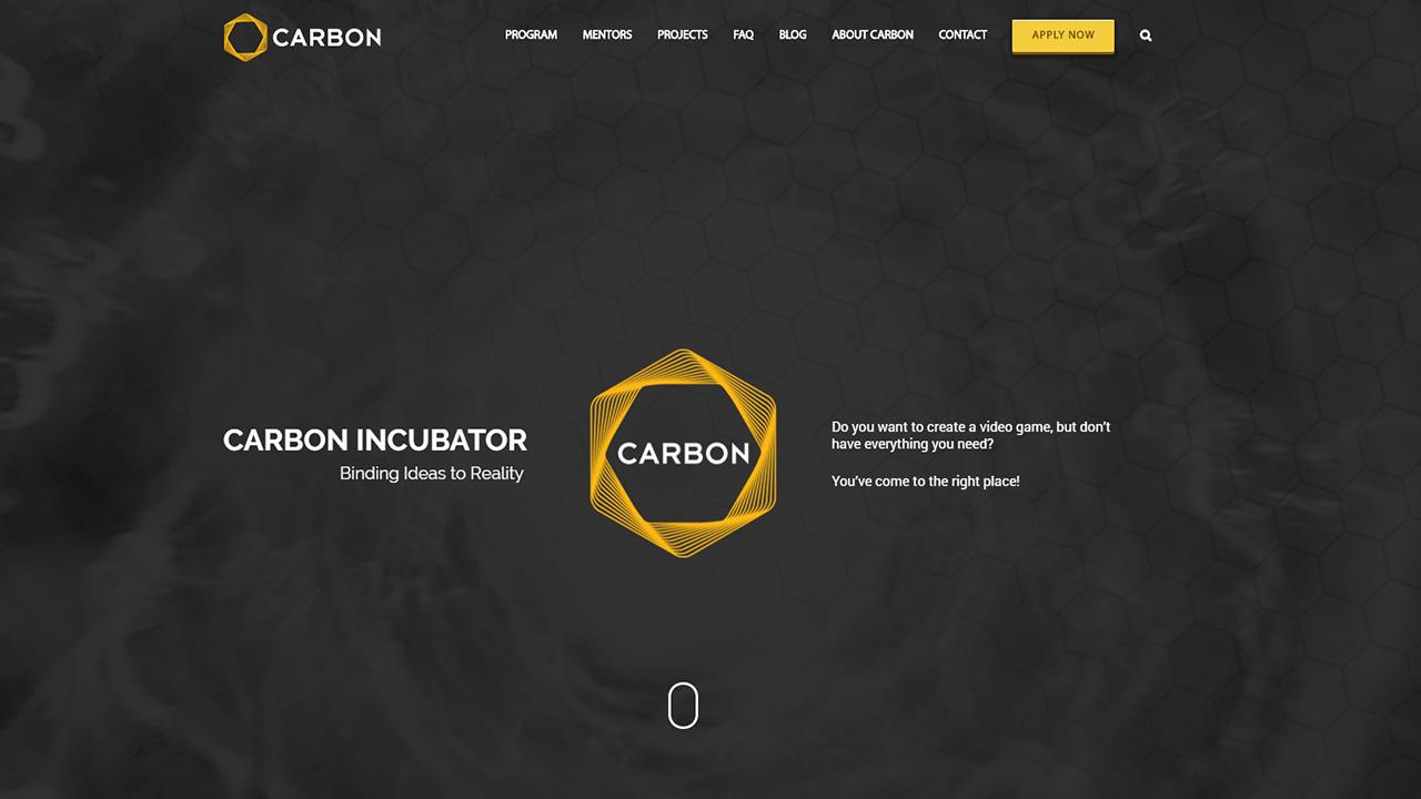 Carbon Incubator Website