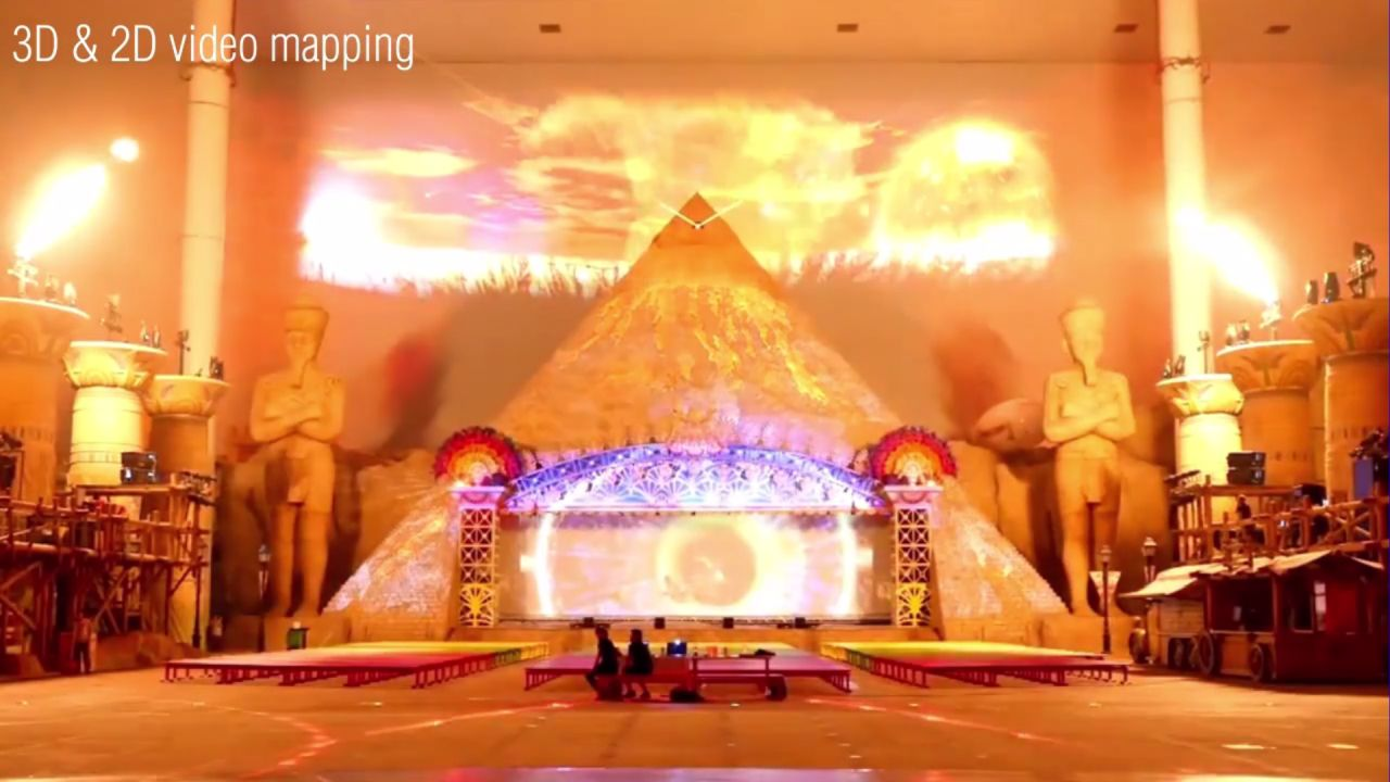 China Mall – 3D Video Mapping