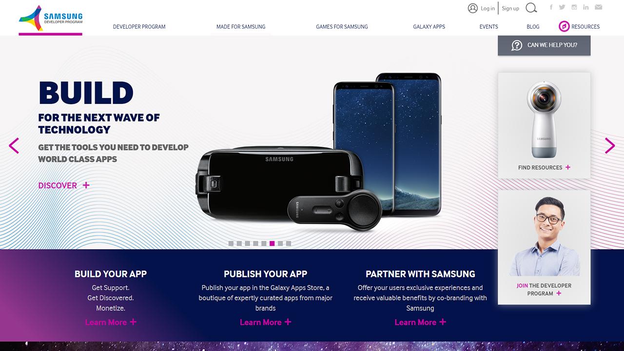 A Full Makeover for a Developer Hub – Redesigning the Samsung Developers Website