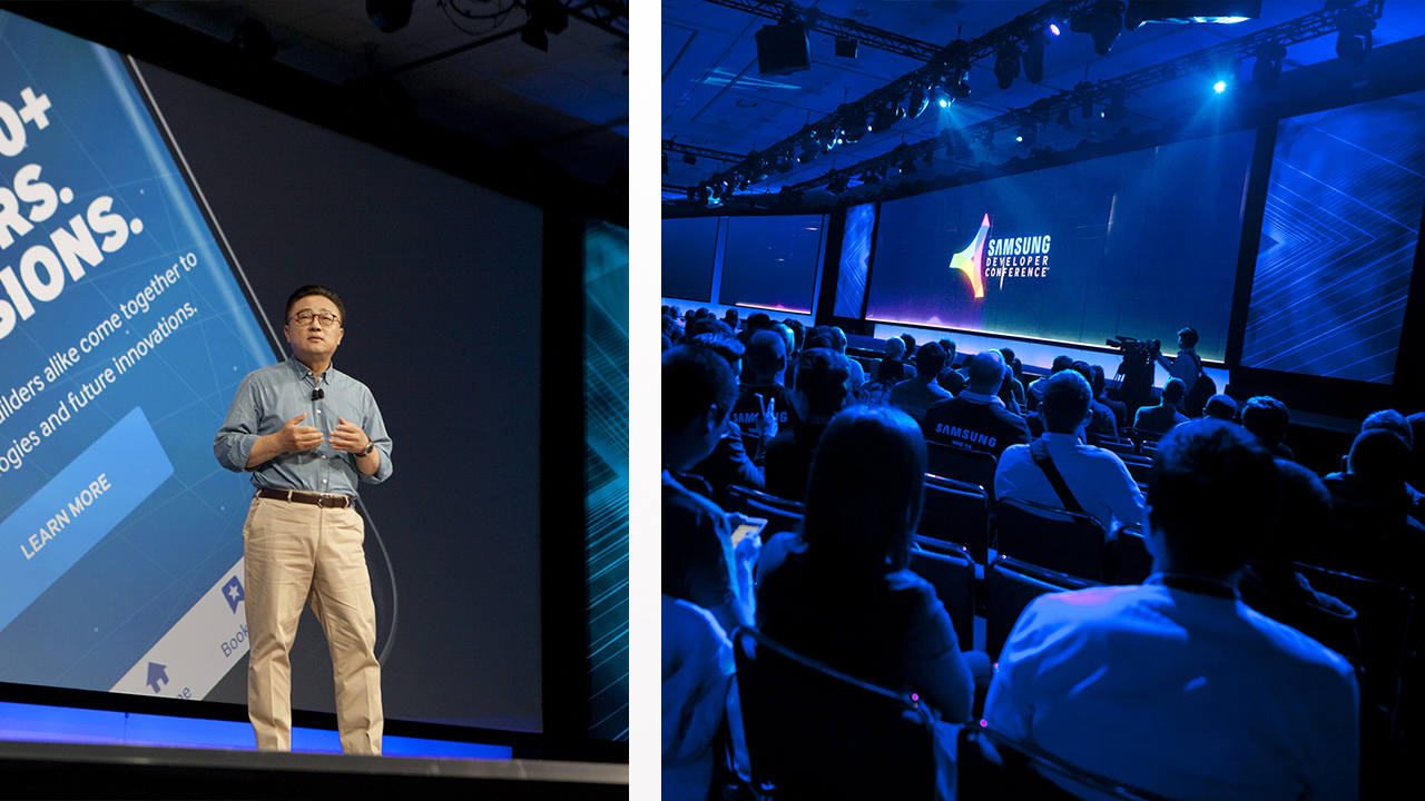 Animating the Future of Technology for the Samsung Developer Conference